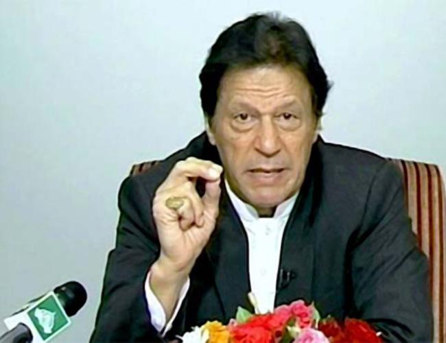 اسلام آباد:۔ وزیر اعظم عمران خان قوم سے خطاب کر رہے ہیں