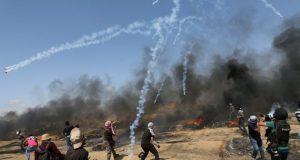 اسرائیلی فوج کی فائرنگ سے 6 فلسطینی شہید، 250 زخمی