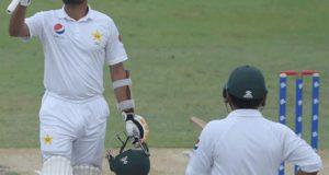 دبئی ٹیسٹ؛ پاکستان نے پہلی اننگز 418 رنز پر ڈیکلیئر کردی
