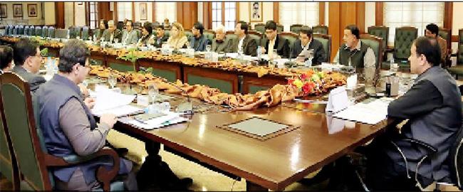 لاہور:۔ وزیر اعلیٰ پنجاب سردار عثمان بزدار لاہورڈویلپمنٹ اتھارٹی کی گورننگ باڈی کے اجلاس کی صدارت کررہے ہیں
