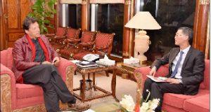 وزیر اعظم عمرا ن خان کی ترجیحات متاثر کن ہیں، چینی سفیر