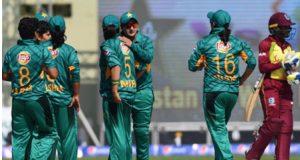 پاکستان نے ویسٹ انڈیز ویمن ٹیم کو آخری ٹی ٹوئنٹی میں شکست دیدی
