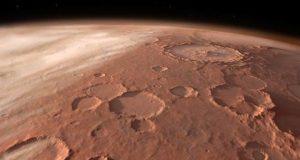 مریخ پر زیرِ زمین پانی کا پورا نظام دریافت