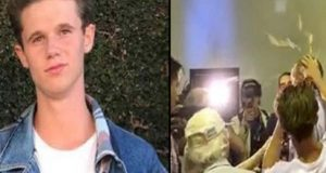 آسٹریلوی سینیٹر کو انڈا مارنے والے نوجوان کا فنڈ کی رقم شہدا کے لواحقین کو دینے کا اعلان