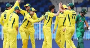 پاکستان کو تیسرے ون ڈے میں بھی شکست، سیریز آسٹریلیا کے نام