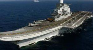طیارہ بردار بھارتی بحری جہاز میں آتشزدگی، لیفٹیننٹ کمانڈر ہلاک