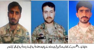 افغان سرزمین سے دہشتگردی: 3 فوجی جوان شہید،متعدددہشتگرد جہنم واصل