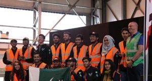 ڈرون بنانے کے بین الاقوامی مقابلے میں پاکستان کی پہلی پوزیشن