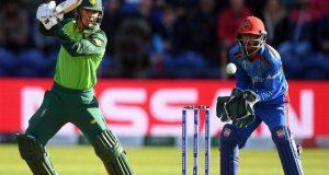 جنوبی افریقا نے افغانستان کو شکست دیکر ورلڈکپ میں پہلی کامیابی حاصل کرلی