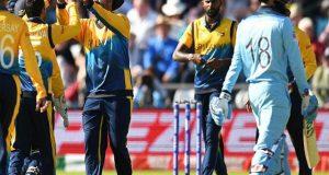 ورلڈکپ میں سری لنکا نے فیورٹ انگلینڈ کو شکست دیدی