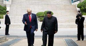 ٹرمپ شمالی کوریا کی سرزمین پر قدم رکھنے والے پہلے امریکی صدر بن گئے