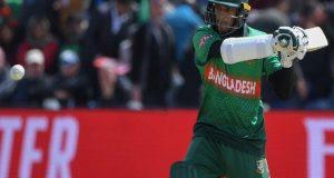 ہدف کے تعاقب میں بنگلادیش کی بیٹنگ