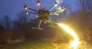 عام ڈرون کو ''آگ برسانے والے ڈرون'' میں بدلنے والا نظام