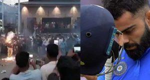 بھارت کے ورلڈ کپ سے باہر ہونے پر مقبوضہ کشمیر میں جشن کا سماں