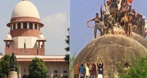 بھارتی سپریم کورٹ کا بابری مسجد شہادت کیس کا فیصلہ 9 ماہ میں سنانے کا حکم