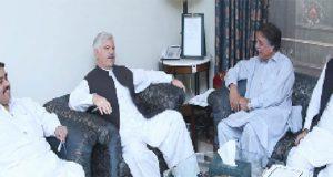 تحریک انصاف کی سیاست کا محور ملکی اداروں کو مضبوط اور مستحکم بنانا ہے،محمودخان