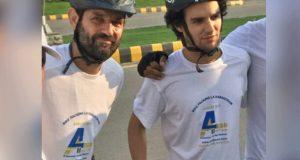 فرانسیسی سائیکلسٹ پاکستانی ثقافت اور کھانوں کے دلدادہ ہوگئے