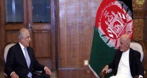 طالبان سے مذاکرات کے بعد امریکی نمائندے کی افغان صدر سے ملاقات