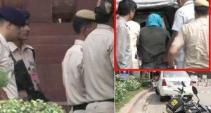 بھارت میں چاقو بردار شخص کی پارلیمنٹ میں داخل ہونے کی کوشش