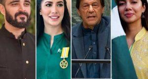وزیراعظم کی تقریرشیرکی دہاڑسے کم نہیں تھی پاکستانیوں کا سرفخرسے بلندہوگیا، فنکاربرادری